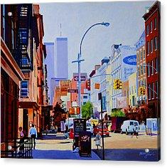 West Broadway Acrylic Print by John Tartaglione