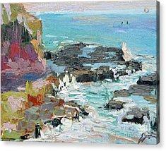 West Cliff Heat Acrylic Print