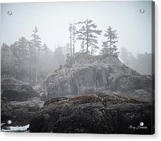 West Coast Landscape Ocean Fog IIi Acrylic Print