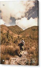 West Coast Tasmania Traveller Acrylic Print
