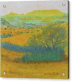 West Dakota Reverie Acrylic Print