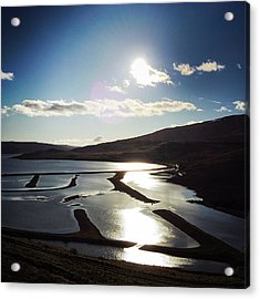 West Fjords Iceland Europe Acrylic Print