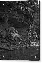 West-fork White River Acrylic Print by Curtis J Neeley Jr