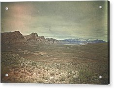 Acrylic Print featuring the photograph West by Mark Ross