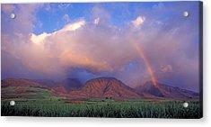 West Maui Rainbow Acrylic Print