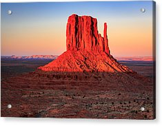 West Mitten Acrylic Print by Johnny Adolphson
