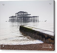 West Pier At Brighton Acrylic Print by Colin and Linda McKie