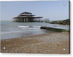 West Pier Acrylic Print