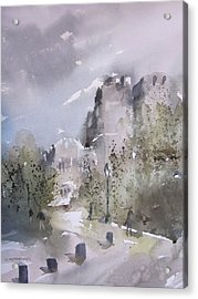 West Point Thayer Road Acrylic Print