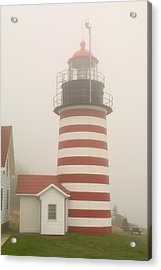 West Quody Head Lighthouse Acrylic Print
