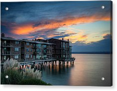 Acrylic Print featuring the photograph West Seattle Living by Dan Mihai