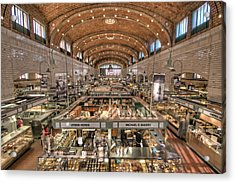 West Side Market Acrylic Print