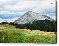 West Spanish Peak In Summer Acrylic Print