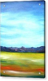 West Texas Landscape Acrylic Print