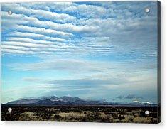 West Texas Skyline #2 Acrylic Print