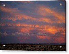 West Texas Sunset #1 Acrylic Print