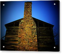 West Virginia Chimney Acrylic Print by Michael L Kimble