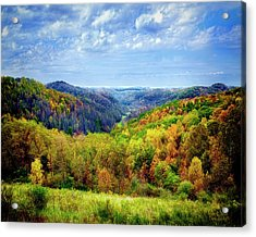 West Virginia Acrylic Print by Mark Allen