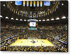 West Virginia Mountaineers Wvu Coliseum Acrylic Print by Replay Photos