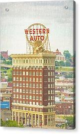 Western Auto Acrylic Print