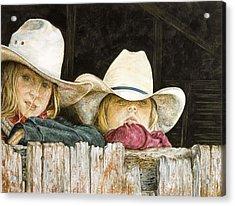 Western Daydreams  Acrylic Print
