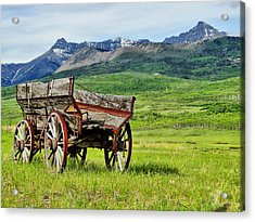 Acrylic Print featuring the photograph Western Exposure by Blair Wainman