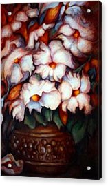 Western Flowers Acrylic Print