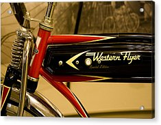 Western Flyer Acrylic Print by Michael Friedman