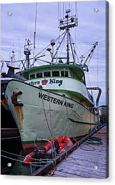 Acrylic Print featuring the photograph Western King At Discovery Harbour by Randy Hall