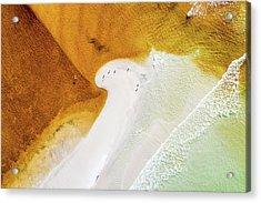 Western Lake Mingling The Gulf Acrylic Print