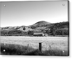 Western Landscape Acrylic Print by Jennifer Addington