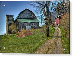 Western Pennsylvania Country Barn Acrylic Print