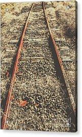 Western Railway Of Routes Forgotten Acrylic Print