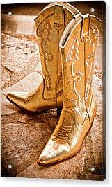 Western Wear Acrylic Print by Jill Smith