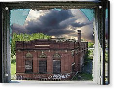 Westinghouse In A Storm Acrylic Print