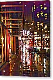 Westlake Rain Acrylic Print