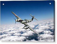 Acrylic Print featuring the photograph Westland Whirlwind Portrait by Gary Eason