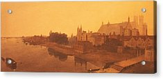 Westminster Abbey  Acrylic Print by Peter de Wint