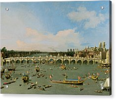 Westminster Bridge - London Acrylic Print