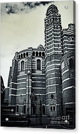 Westminster Cathedral 02 Sw Acrylic Print