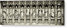 Acrylic Print featuring the photograph Westminster Martyrs Memorial - 1 by Stephen Stookey