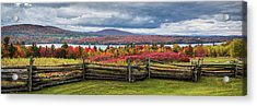 Westmore Overlook Acrylic Print by Tim Kirchoff