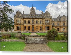 Acrylic Print featuring the photograph Westonbirt School For Girls by Clare Bambers