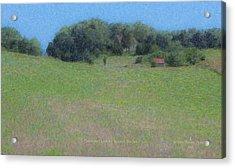 Westport Meadow Acrylic Print