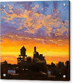 Westside Sunset No. 1 Acrylic Print