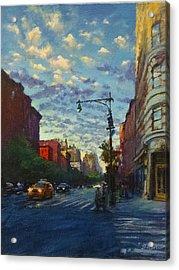 Westside Sunset No. 4 Acrylic Print by Peter Salwen