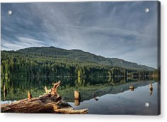 Acrylic Print featuring the photograph Westwood Lake by Randy Hall