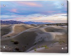 Wet Dunes Acrylic Print by Chad Dutson
