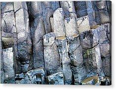 Acrylic Print featuring the photograph Wet Rocks 2 by Hitendra SINKAR