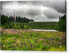 Acrylic Print featuring the photograph Weyerhaeuser Headquarters by Dan McManus